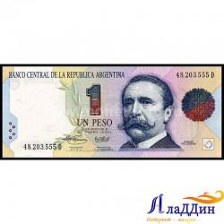 Банкнота 1 песо Аргентина