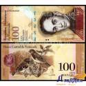 Банкнота 100 боливар Венесуэла
