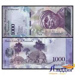 Банкнота 1000 боливар Венесуэла