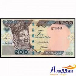 Нигерия 200 найра кәгазь акчасы