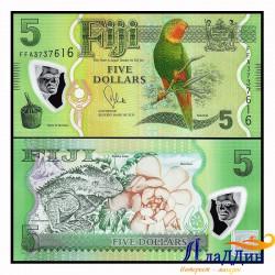 Банкнота Фиджи 5 долларов